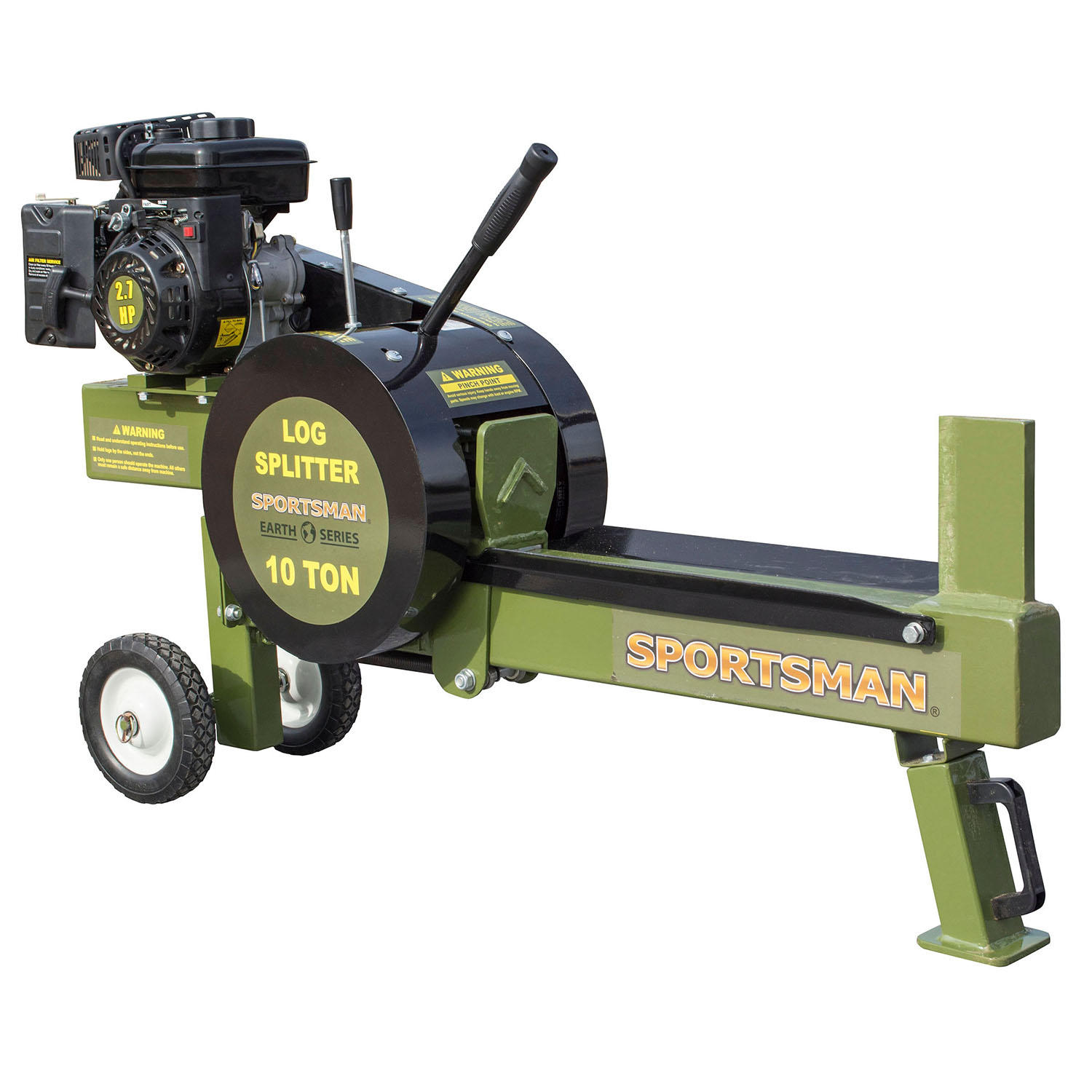 Sportsman Earth Series 10-Ton Gas-Powered Kinetic Log Spitter