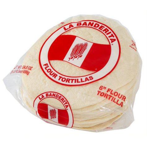"La Banderita 6"" Flour Tortillas (24 ct., 2 pk.)"