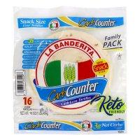 La Banderita Carb Counter Snack Size Tortillas (16 ct.)