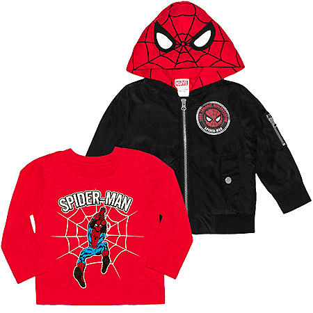 Licensed Boys' 2-Piece Jacket Set