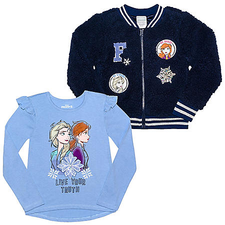 Licensed Girls' 2-Piece Jacket Set