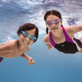 Speedo Youth Goggles, 3-Pack