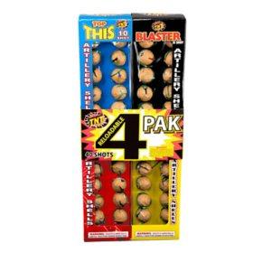 4-Pak Reloadable