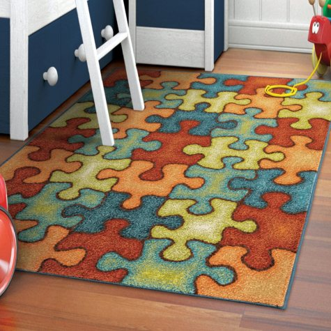Perplexed Puzzle Multi Area Rug