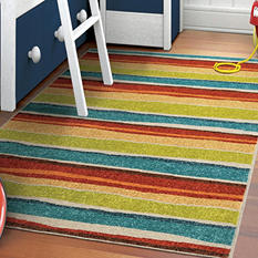Dreamy Stripe Multi Area Rug