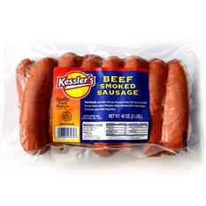 Kessler's Beef Smoked Sausage (3 lb.)