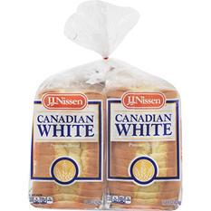 J. J. Nissen Canadian White Premium Bread (2 pk.)