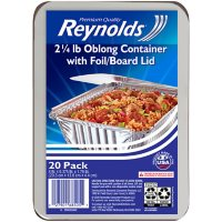 Reynolds Oblong Foil Take Out Containers with Lids (20 ct.)