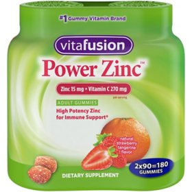 Vitafusion Power Zinc Gummy Vitamin (180 ct.)