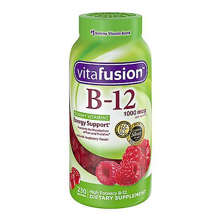 Vitafusion Vitamin B-12 1000mcg Gummy Supplement (230 ct.)