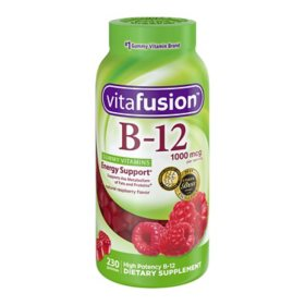 Vitafusion Vitamin B-12 1000mcg Gummy Supplement (230 ct.)