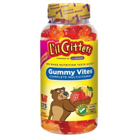 L'il Critters Gummy Vites Gummy Bears (275 ct.)