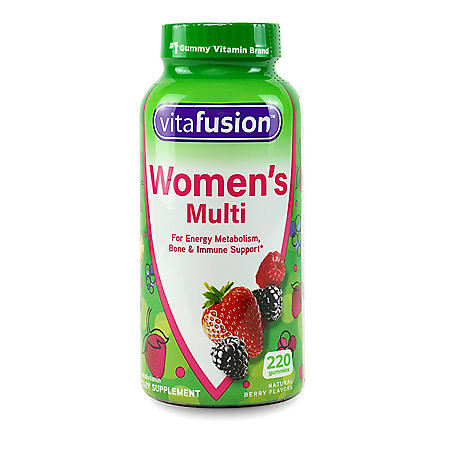 Vitafusion Women's Multivitamin Gummies (220 ct.)