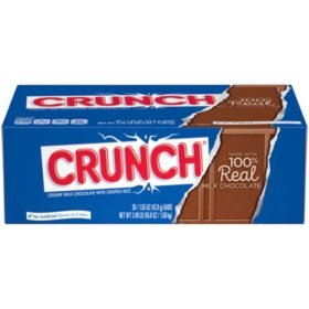 Nestle Crunch Candy Bar (1.55oz., 36 ct.)