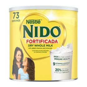 Nestle NIDO Fortificada Whole Milk Powder (4.85 lbs.)