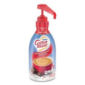 Coffee-mate Liquid Pump Bottle, Peppermint Mocha (1.5 L)