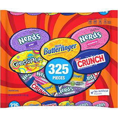 Nestle Assorted Halloween Chocolate/Sugar Candy (96 oz., 325 ct.)