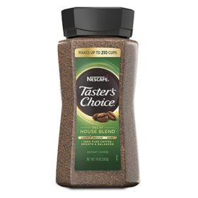 NESCAFE Taster's Choice Decaf Instant Coffee, House Blend (14 oz.)