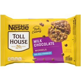 NESTLE TOLL HOUSE Milk Chocolate Morsels (57.5 oz.)