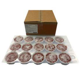 Red Velvet Muffin, Bulk Wholesale Case (60 ct.)