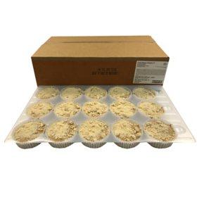 Pumpkin Streusel Muffin, Bulk Wholesale Case (60 ct.)