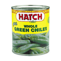 Hatch Mild Whole Green Chiles - 2/27 oz.