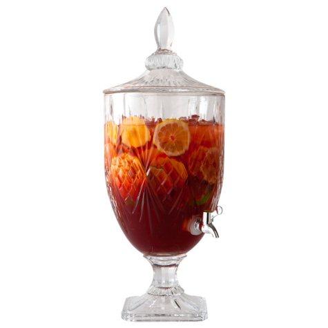Godinger Shannon Crystal Beverage Dispenser