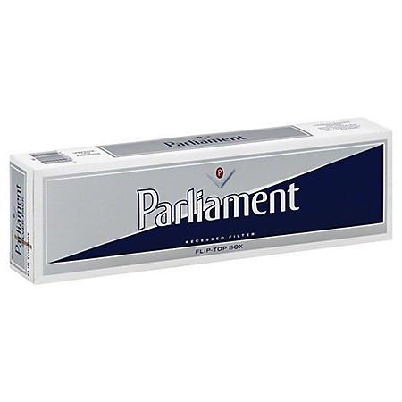 Parliament Silver King Box (20 ct., 10 pk.)