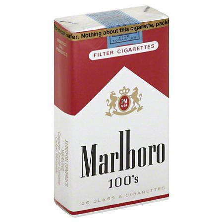 Marlboro 100s Soft Pack (20 ct. 10 pk.)