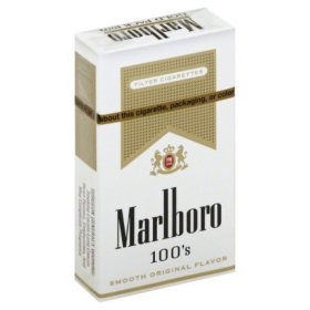 Marlboro Gold 100s Box (20 ct., 10 pk.)