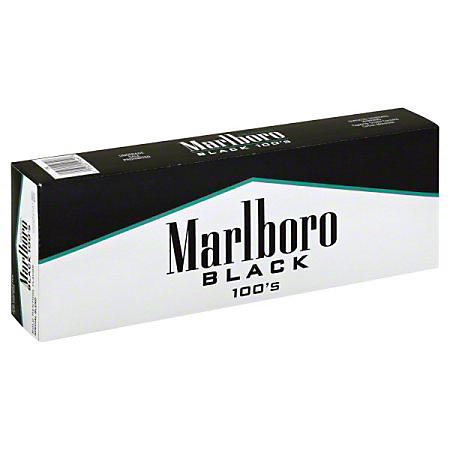 Marlboro Special Select Menthol Black 100s Box (20 ct., 10 pk.)