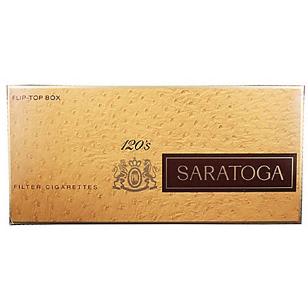 Saratoga 120s Box (20 ct., 10 pk.)