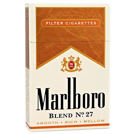 Marlboro Blend No. 27 King Box (20 ct., 10 pk.) $0.50 Off Per Pack
