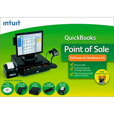 QuickBooks Point of Sale Software & Hardware 2013