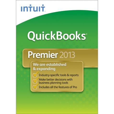 Intuit QuickBooks Premier Industry Editions 3-User 2013