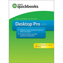 Intuit QuickBooks Desktop Pro 2017 +90 days of Support