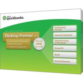 QuickBooks Desktop Premier 2019 (PC Disc)