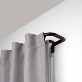 "Umbra Room Darkening Double Rod (Auburn Bronze, 3/4"" Dia.)"