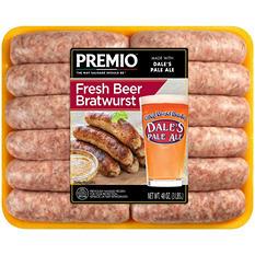 Premio Dale's Pale Ale Beer Bratwurst (3 lb.)