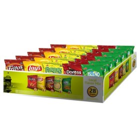 Frito-Lay Local Flavor Mix Variety Pack Chips (28 ct.)