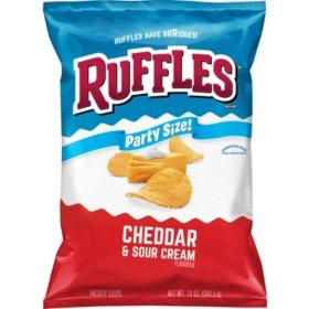 Ruffles Cheddar and Sour Cream Potato Chips (13 oz.)