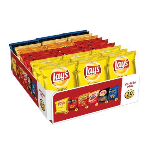 Frito-Lay Big Grab Chips and Snacks Variety Pack (30 ct.)