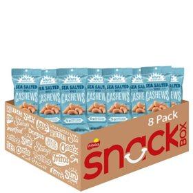 Nut Harvest Whole Cashews (2.5 oz., 8 ct.)