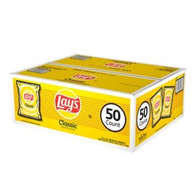 Lay's Classic Potato Chips (1 oz., 50 pk.)