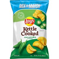 Lay's Kettle Cooked Jalapeno Flavored Potato Chips (13.625 oz.)