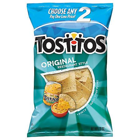 Tostitos Original Restaurant Style Tortilla Chips (16 oz.)