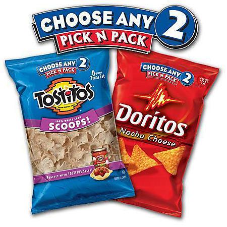 Frito-Lay Pick n Pack Chips