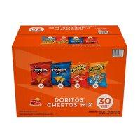 Doritos and Cheetos Mix Snacks Variety Pack (30 pk.)