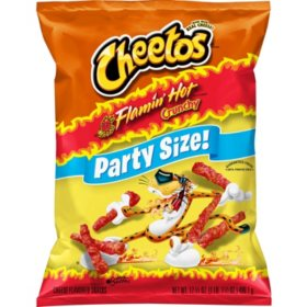 Awe Inspiring Cheetos Flamin Hot Crunchy Party Size 17 5 Oz Sams Club Gamerscity Chair Design For Home Gamerscityorg