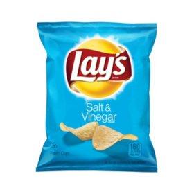 Lay's Salt & Vinegar Potato Chips (1.125 oz., 50 ct.)